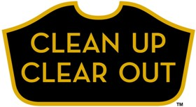 clean up clear out logo